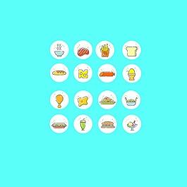 清新食品类icon
