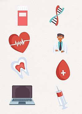 醫療主題設計圖案
