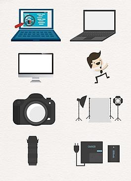 电脑数码设计图案