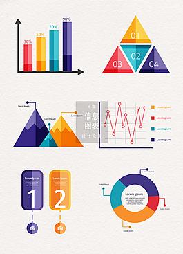 信息數據圖表設計元素