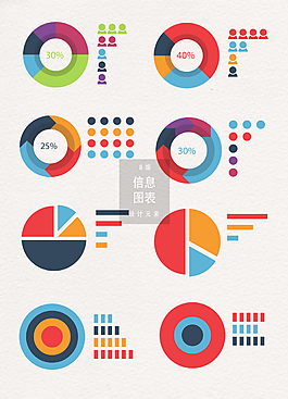 數據分析信息圖表設計元素