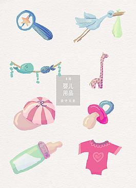 婴儿用品设计元素