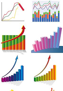 金融商務趨勢裝飾圖案