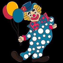 六一幼儿园卡通小丑造型