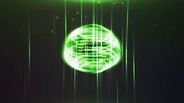 魔法般的螺旋光环logo揭示AE模板