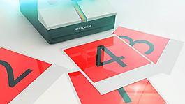 復古的照片打印機相片展示效果AE模板