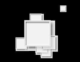 卡通幾何邊框相框元素