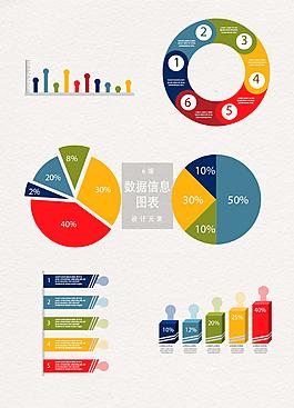 數據信息圖表設計裝飾圖案