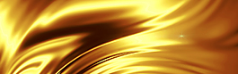 大气金色丝绸海报banner背景