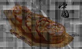 中秋月餅裝飾元素