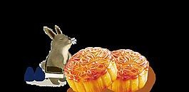 卡通中秋節月餅裝飾素材