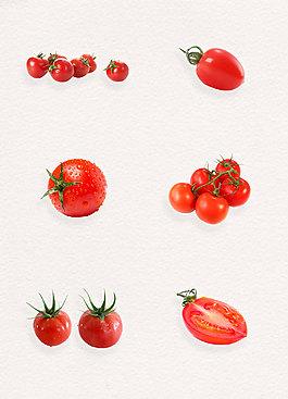 產品實物紅色圣女果小番茄
