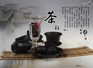 茶葉海報素材