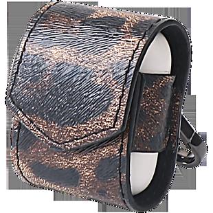 豹紋無線耳機保護套