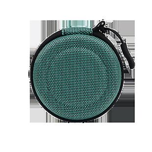 透氣網格耳機收納包