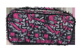 潮流編織紋手提自拍桿包