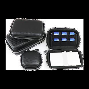 黑色充電寶硬包收納包