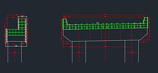 一種高低蓋梁模板設計