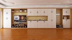 电视机柜及衣柜效果图