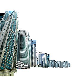 城市高楼写字楼