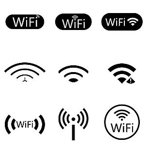 商务风WiFi图标