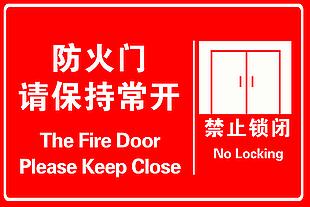 防火門保持常開