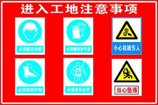 工地安全標識