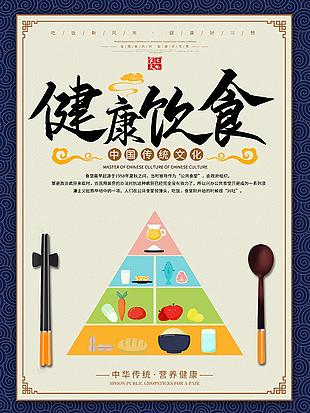 珍惜粮食拒绝浪费食堂文化海报