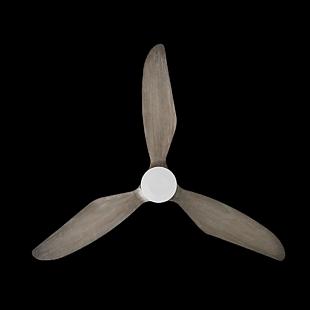 实木吊扇仰视图,类似螺旋桨