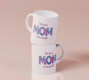 送給媽媽的紀念杯子