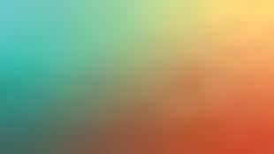 綠與橙的漸變色