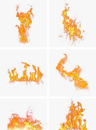 金色火焰促销用火装饰火大火起火焰火