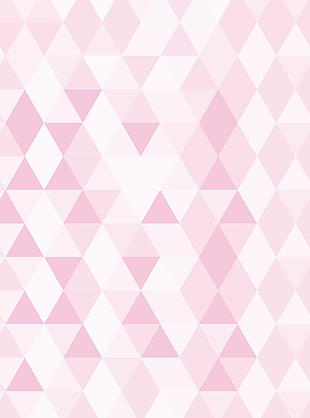 粉色几何图浅色背景 服装粉色底多边形清新