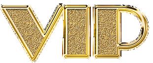 金色VIP文字