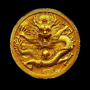 金色龙浮雕
