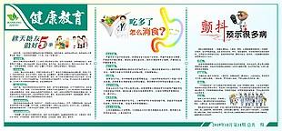 秋季健康教育宣传栏