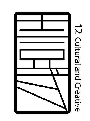 窗花logo設計