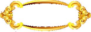 金色中國風邊框設計元素