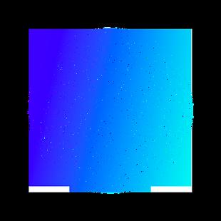 球形科技藍色漸變裝飾素材設計