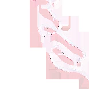 白色的带子免抠图