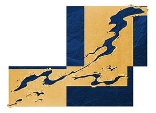 中式金色描边蓝色云朵烟(2400x1743)