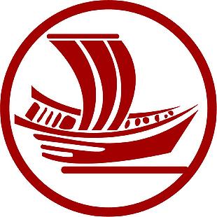 帆船 标志