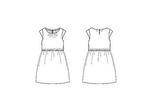 連衣裙版型