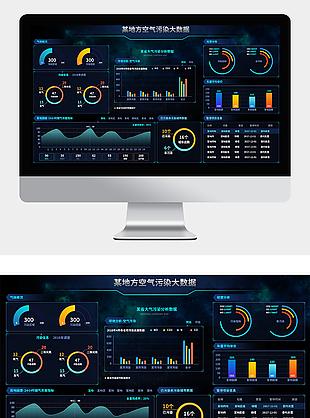 大数据时代信息图表大数据可视化科技