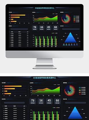 大数据UI大数据可视化环境互联网数据界面