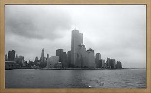 相冊相框掛畫風景建筑照 黑白照