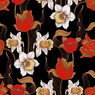 中式布紋背景