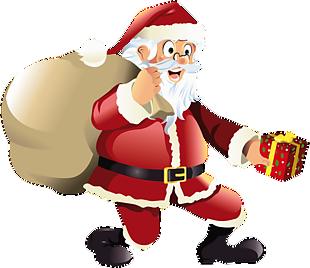 圣誕老人背包