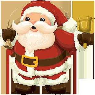 圣誕老人干杯