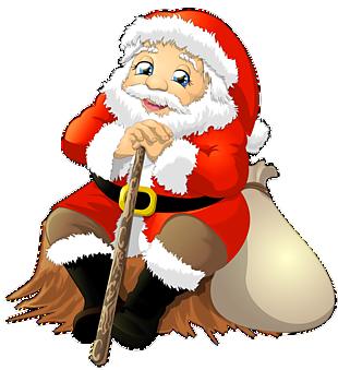 圣誕老人開心